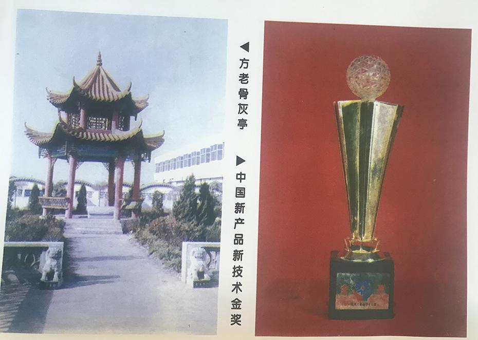 中国新产品新技术金奖